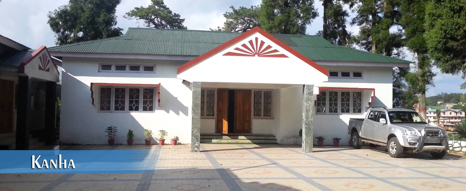 officers rest house wcr kanha